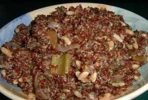 red quinoa salad 2