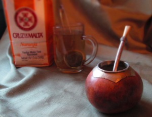 Yerba mate with Argentinian mate gourd