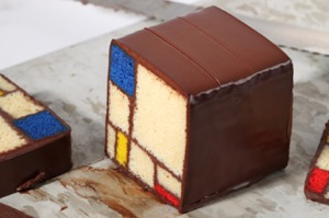 Mondrian Cake (Blue Bottle Coffee/Caitlin Freeman)