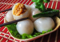 Thai Peanut Dumplings