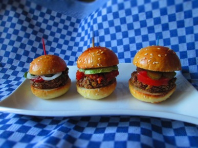 "Australian ""Roo"" Burgers"